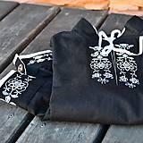 Čierna detská košeľa
