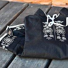 Detské oblečenie - Čierna detská košeľa - 8092636_