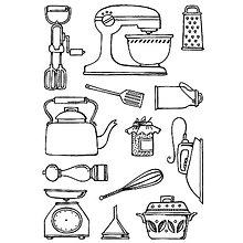Pomôcky/Nástroje - Silikónové razítko Sweet Dixie - Kuchynské potreby - 8095981_