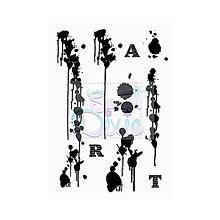 Pomôcky/Nástroje - Silikónové razítko Sweet Dixie - Machule / ART - 8096100_