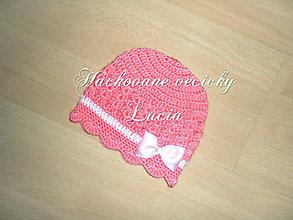 Detské čiapky - Čiapočka - 8095381_