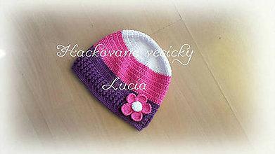 Detské čiapky - Čiapočka - 8095385_