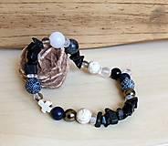 Šperky - Pánsky náramok Krížik - 8093343_