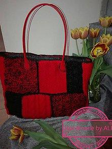 Veľké tašky - Pletená kabela na každý deň - 8093762_