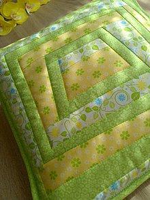 Úžitkový textil - Slnečný vankúšik :) - 8093567_