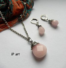Sady šperkov - Růžová je krásná.... - 8093400_