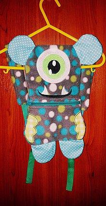 Detské tašky - Ruksačik príšrka Max - 8094060_