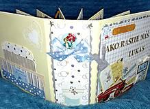 Papiernictvo - Dobrodružný interaktívny fotoalbum pre dieťa - chlapca - 8093648_