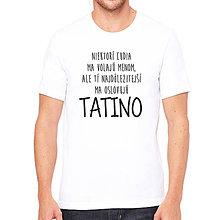 Oblečenie - Pánske tričko NAJDôLEŽITEJŠÍ - 8092757_