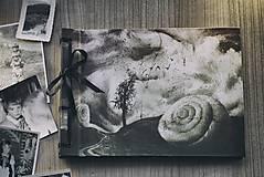 Fotoalbum klasický s autorskou ilustráciou ,,Ulita,, (dočasne nedostupné)
