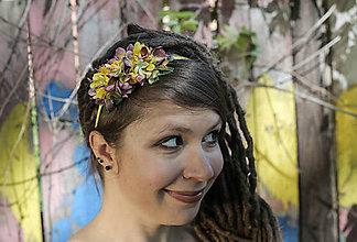 Ozdoby do vlasov - čelenka s letním žárem - 8094155_