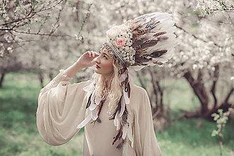 Ozdoby do vlasov - Kráľovská biela koruna - 8095555_