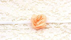 Náramky - Náramok marhuľová ruža - 8094327_