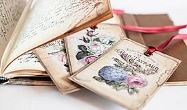 Papiernictvo - Set vintage menoviek