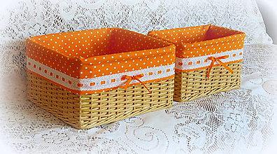 Košíky - Košík mandarinka 3 - 8093250_