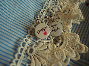 Náušnice - Náušničky pre nevestu - 8093704_