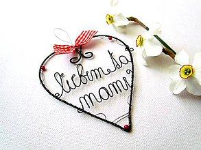 Dekorácie - Deň matiek - 8094355_