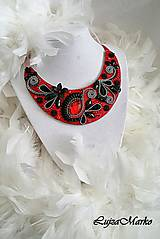 Náhrdelníky - Fantasy in red náhrdelník - ZĽAVA zo 43€ - 29€ - 8094782_
