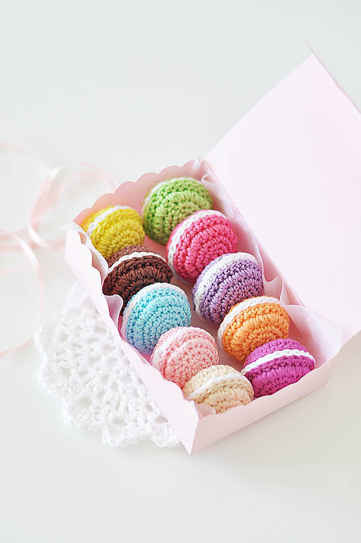 Francúzske macarons set
