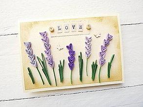 Papiernictvo - svadobná pohľadnica - 8093897_