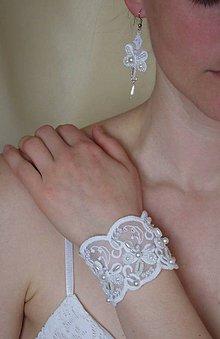 Sady šperkov - Krajková súprava III - 8092585_