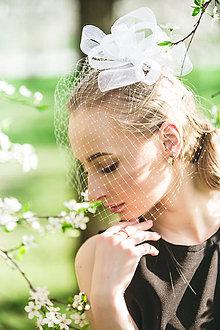 Ozdoby do vlasov - Wedding Fascinator Dream (fascinator samostatný) - 8098829_
