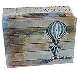 Krabičky - ČAJOVNICA/ ŠPERKOVNICA 6 priečinkov - 8099100_