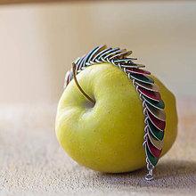 Náramky - Jablíčkový šupináč - náramek - 8099615_