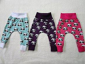 Detské oblečenie - Tepláčiky pudlového strihu - 8099132_