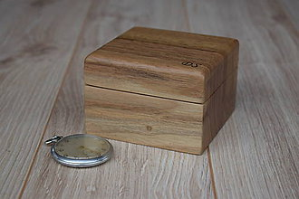 Krabičky - Krabička z orechového dreva na hodinky - 8097373_