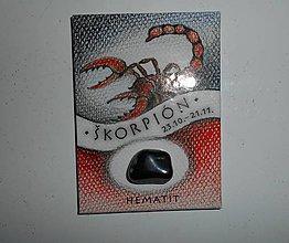 Magnetky - znamenie-škorpión-magnetka- - 8099607_