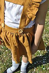 Detské oblečenie - Sukňa EMA škoricová - 8098432_