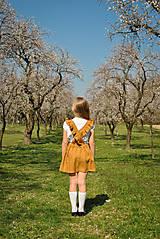 Detské oblečenie - Sukňa EMA škoricová - 8098433_