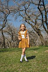 Detské oblečenie - Sukňa EMA škoricová - 8098434_
