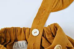 Detské oblečenie - Sukňa EMA škoricová - 8098552_
