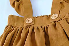 Detské oblečenie - Sukňa EMA škoricová - 8098553_