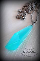 Náhrdelníky - Náhrdelník Azúrový kameň (2169 A CHO) - 8096889_