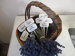 Tabuľky - Zápich bylinky - 8097046_