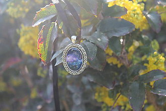 Iné šperky - Prívesok Vesmír - 8099937_