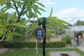 Iné šperky - Prívesok Kráska a zviera - 8099982_