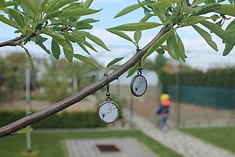Iné šperky - Náušnice Púpava - 8099998_