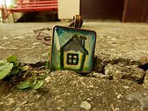 Náhrdelníky - Zvláštny domček - 8096480_