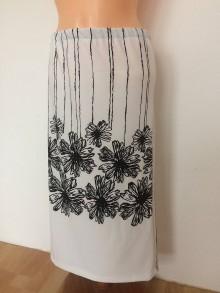Sukne - Bílá sukně - 8099758_