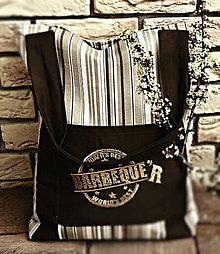 Veľké tašky - taška na plece- vyšívaná - 8098087_