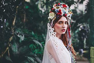 Ozdoby do vlasov - Svadobná folk parta