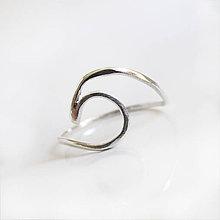 Prstene - MiniMe / Sign (Morská vlnka) - 8099108_