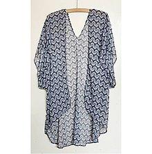 Iné oblečenie - Čiernobiely vzorovaný cardigan - 8098081_