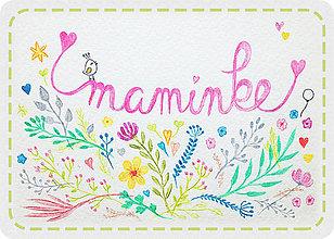 Magnetky - Maminke ku dňu matiek - 8097334_