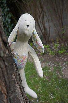 Hračky - zajko biely - 8096518_