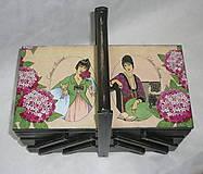 Krabičky - Box na šitie Costumer Parisiens - 8099852_